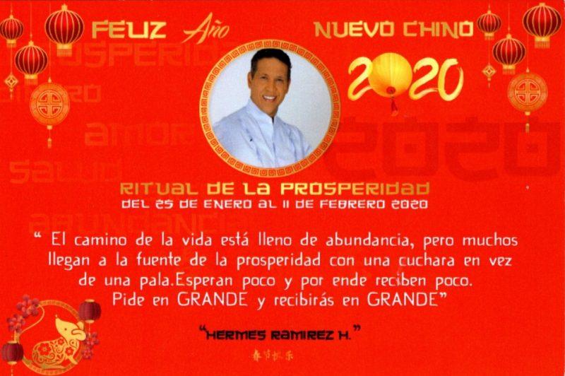 Nuevo Año Chino 2020 – Hermes Ramírez