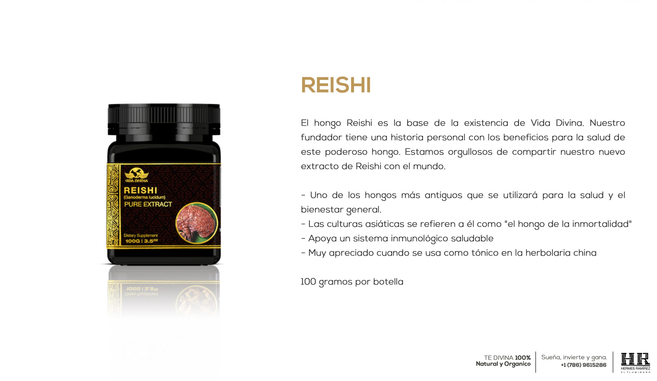 POST extracto Reishi info