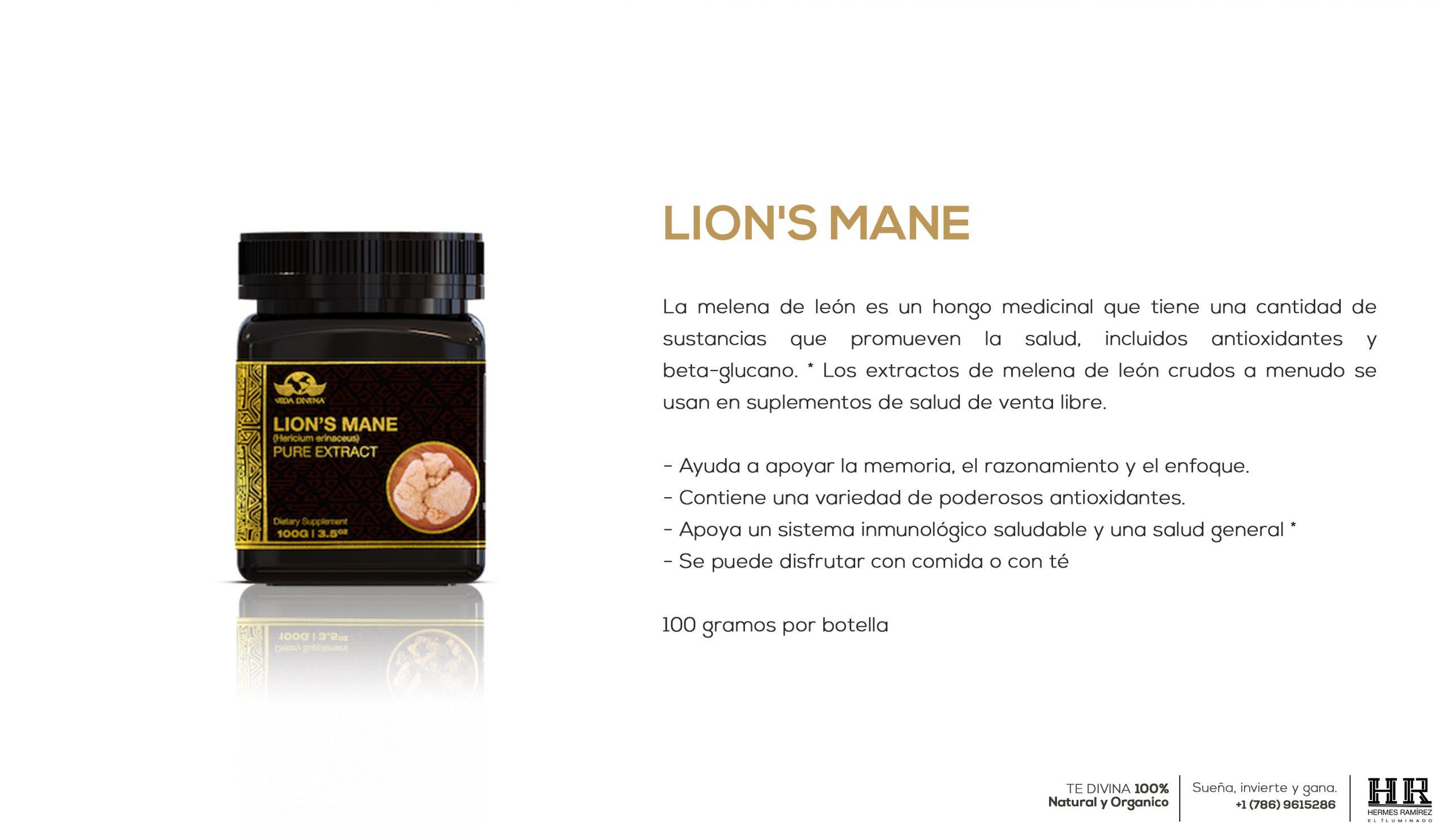 POST extracto lions info